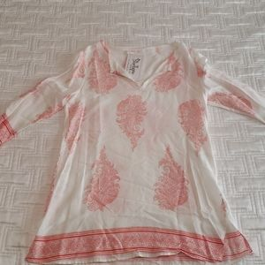 Peach Love California Shirt NWT